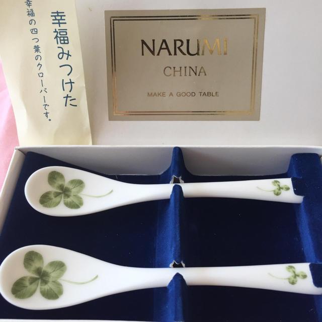 NARUMI(ナルミ)のNARUMI ティースプーン 2本 インテリア/住まい/日用品のキッチン/食器(テーブル用品)の商品写真