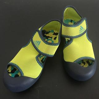 アディダス(adidas)の18㎝♪adidas アクアシューズ 水陸両用 スニーカーサンダル(サンダル)