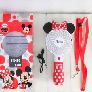 ディズニー(Disney)の新品 Disney ミニー ハンディ扇風機(扇風機)