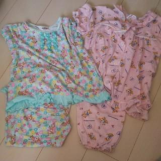 ハミングミント(ハミングミント)のハミングミントの120パジャマ2枚セット(パジャマ)