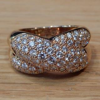 カルティエ(Cartier)の新品同様 カルティエ コリゼ リング 指輪 イエローゴールド ダイヤモンド(リング(指輪))