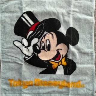 ディズニー(Disney)の【未使用】 ハンドタオル ミッキー ディズニー 東京ディズニーランド レア(タオル)