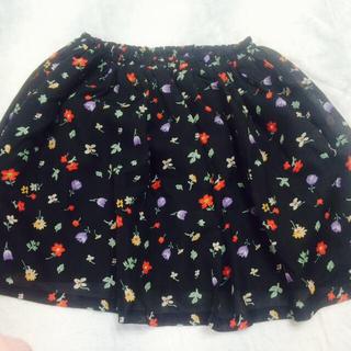 ニーナミュウ(Nina mew)の花柄シフォンスカート(ミニスカート)