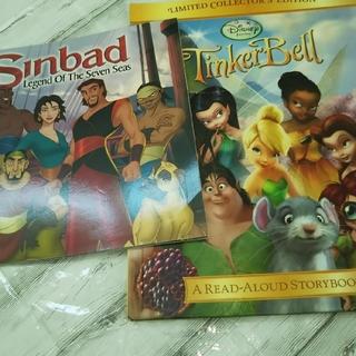 ディズニー(Disney)の⭐️洋書 絵本 ディズニー ティンカーベル /シンバッド ②冊(洋書)