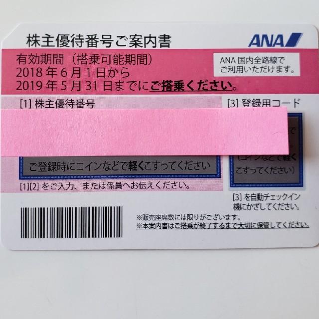 noob様専用✩ANA株主優待券✩ 4枚 チケットの乗車券/交通券(航空券)の商品写真