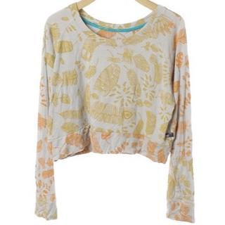 アッシュペーフランス(H.P.FRANCE)のホォアナデアルコ Juana de Arco  総柄長袖カットソー (Tシャツ(長袖/七分))