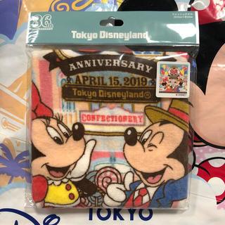ディズニー(Disney)の新作♡ 36周年 ウォッシュタオル ディズニーリゾート(タオル)