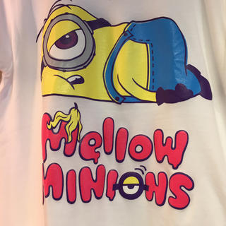 ミニオン(ミニオン)のユニバ USJ ミニオン  Mellow minion 半袖 TシャツM 新品 (キャラクターグッズ)