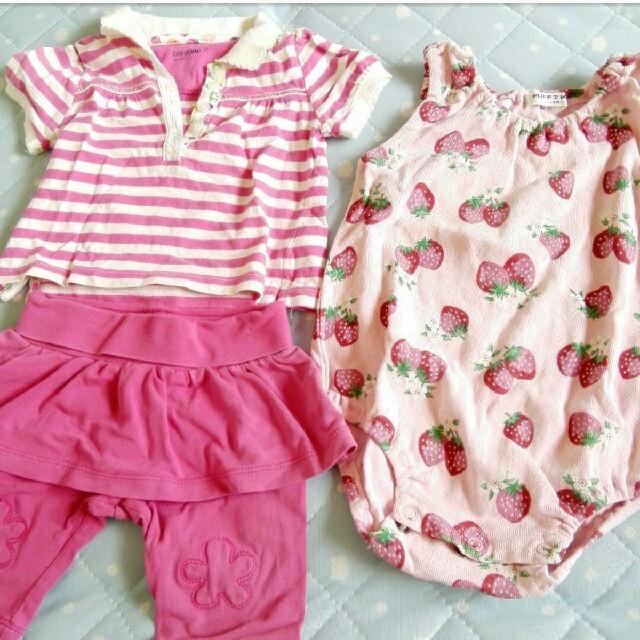 babyGAP(ベビーギャップ)の70cm ロンパース ベビーギャップ コーデ売り キッズ/ベビー/マタニティのベビー服(~85cm)(ロンパース)の商品写真