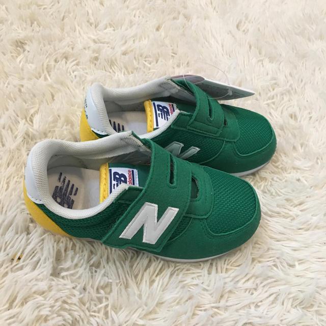 New Balance(ニューバランス)の新品未使用 ニューバランス スニーカー キッズ/ベビー/マタニティのキッズ靴/シューズ (15cm~)(スニーカー)の商品写真