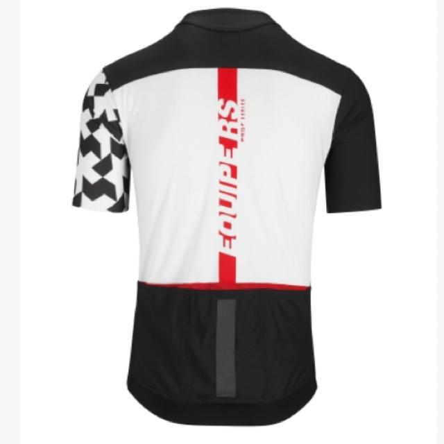 2019モデル アソス エキップRS エアロSS半袖ジャジー Mサイズ 黒 スポーツ/アウトドアの自転車(ウエア)の商品写真