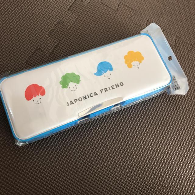 ショウワノート(ショウワノート)の新品♡ジャポニカ  両面筆箱 インテリア/住まい/日用品の文房具(ペンケース/筆箱)の商品写真