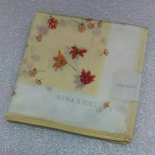 ニナリッチ(NINA RICCI)のニナリッチ☆大判ハンカチーフ58×58(バンダナ/スカーフ)