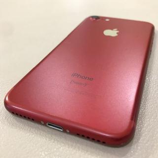 アイフォーン(iPhone)の【SIMフリー】iPhone7 128GB レッド(スマートフォン本体)