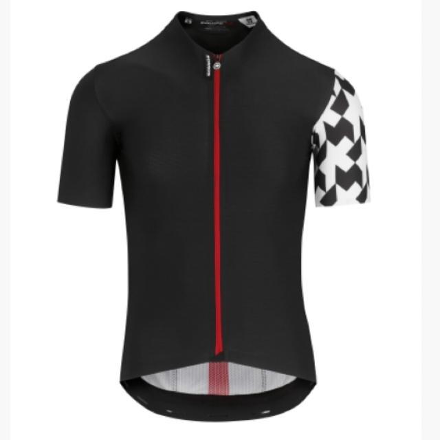 2019モデル アソス エキップRS エアロSS半袖ジャジー Lサイズ 黒 スポーツ/アウトドアの自転車(ウエア)の商品写真