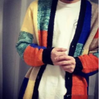 Supreme - Supreme Patchwork Mohair Cardigan Mサイズ