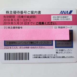 ぷー様専用 ✩ANA株主優待券✩ 1枚(航空券)