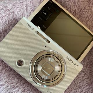カシオ(CASIO)の明日発送・EXILIM EX-ZR70 ホワイト デジカメ SDカード付き(コンパクトデジタルカメラ)