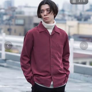 ジーユー(GU)のdoopz オープンカラーシャツ(シャツ)