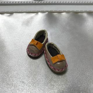 ハンドメイド オビツ11 本革靴(ミニチュア)