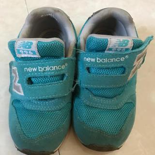 ニューバランス(New Balance)のニューバランス キッズ 16センチ アクアブルー(スニーカー)