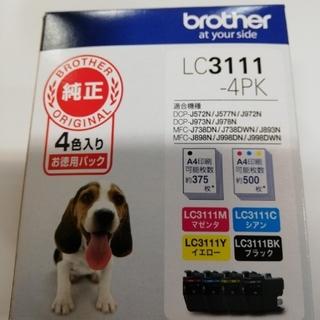 ブラザー(brother)の【うめちゃんズ様専用!】ブラザー 純正インク LC3111-4PK(オフィス用品一般)