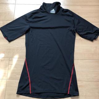アディダス(adidas)のアディダス    アンダーシャツ 半袖   Lサイズ(ウェア)