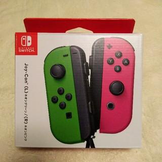 ニンテンドースイッチ(Nintendo Switch)の新品 switch Joy-Con ジョイコン ペア セット ネオン(その他)