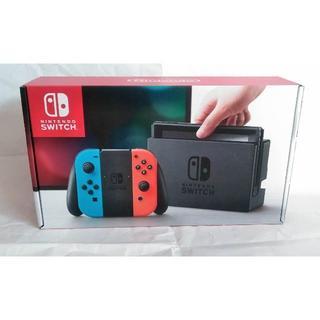 ニンテンドウ(任天堂)のNintendo switch ニンテンドー スイッチ 本体 ネオン 新品(家庭用ゲーム本体)