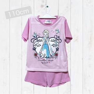 ディズニー(Disney)のused★110cm*Disney*FROZEN 半袖半ズボン夏用パジャマ(パジャマ)