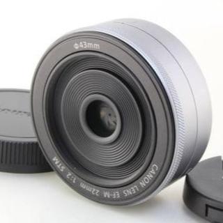 キヤノン(Canon)の★ 新品 ★ キャノン ★ 単焦点レンズ ★ EF-M22mm F2 STM ★(レンズ(単焦点))