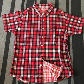 ジーユー(GU)の⚓︎  ワークシャツ    150  ⚓︎(その他)