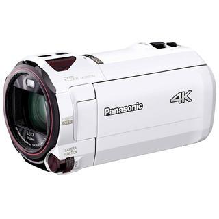 パナソニック(Panasonic)のパナソニック 4K ビデオカメラ  64GB ホワイト HC-VX990M-W(ビデオカメラ)