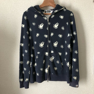 A BATHING APE - BAPE COLLEGE 蓄光 パーカー S