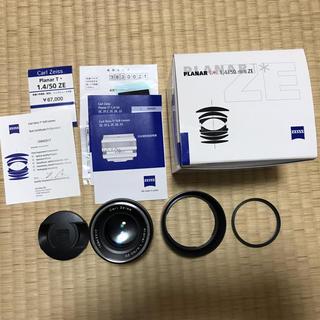 カールツァイス プラナーPlanar T* 50mm F1.4ZE(Canon)(レンズ(単焦点))