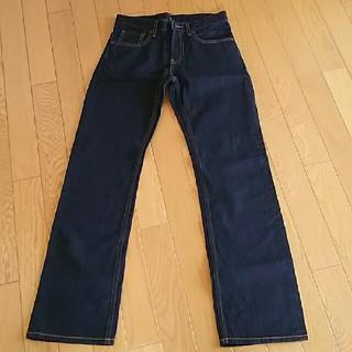 ジーユー(GU)のストレートジーンズ 男児150サイズ(パンツ/スパッツ)