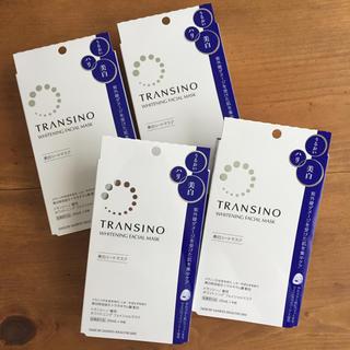 ダイイチサンキョウヘルスケア(第一三共ヘルスケア)のトランシーノ 薬用ホワイトニング フェイシャルマスク(4枚×4箱)(パック / フェイスマスク)