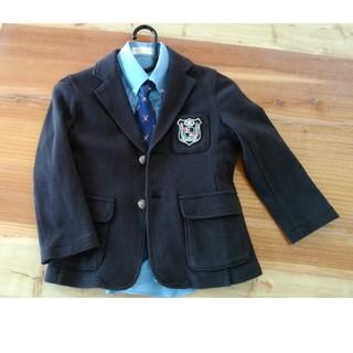 7547911c1efe8 コムサイズム(COMME CA ISM)の男の子 スーツ ジャケット3点セット(ドレス