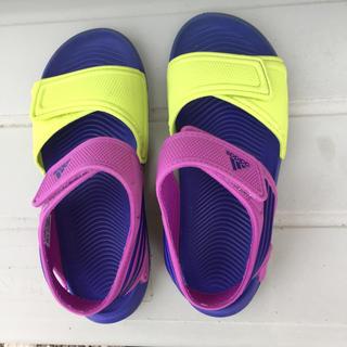 アディダス(adidas)のアディダス   サンダル   21センチ(サンダル)