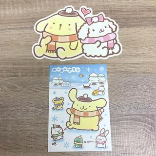 サンリオ(サンリオ)のポムポムプリン ポストカード2枚セット【サンリオ】(使用済み切手/官製はがき)