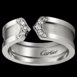 カルティエ(Cartier)のカルティエ C2ダイヤリング(リング(指輪))