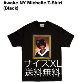 アウェイク(AWAKE)のAwake NY Michelle T-Shirt ブラック XL (Tシャツ/カットソー(半袖/袖なし))