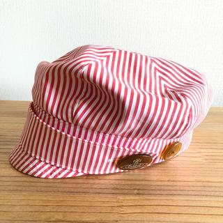 ヴィヴィアンウエストウッド(Vivienne Westwood)のヴィヴィアンウエストウッド・キャスケット帽(キャップ)