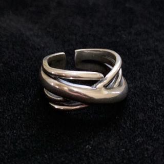 シルバー925 クロスデザインリング シルバーリング (リング(指輪))