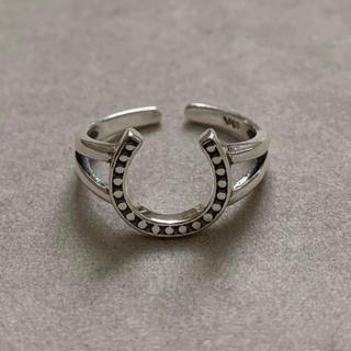 シルバー925 ホースシューリング シルバーリング(リング(指輪))