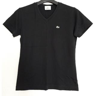 ラコステ(LACOSTE)のLACOSTE ラコステ Tシャツ 黒(Tシャツ/カットソー(半袖/袖なし))