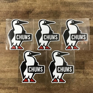 チャムス(CHUMS)の【新品】大人気 チャムス ブービーロゴステッカー5枚セット (ステッカー)