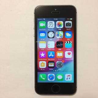アイフォーン(iPhone)の⑧中古美品 AU iPhone5s 16gb (スマートフォン本体)