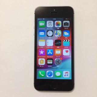 アイフォーン(iPhone)の⑨中古 AU iPhone5s 16gb バッテリー90%(スマートフォン本体)