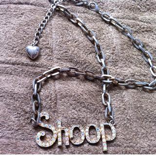 ベイビーシュープ(baby shoop)のshoop ネックレス(ネックレス)